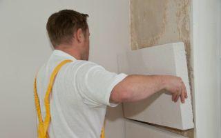 Как правильно утеплить стену в квартире изнутри?