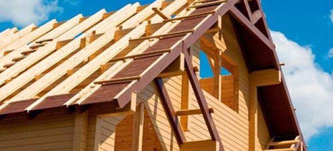 Виды и монтаж фронтонов двухскатных крыш