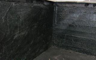 Гидроизоляция подвала изнутри от грунтовых вод: пошаговая инструкция