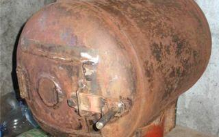 Печь из газового баллона своими руками: пошаговая инструкция