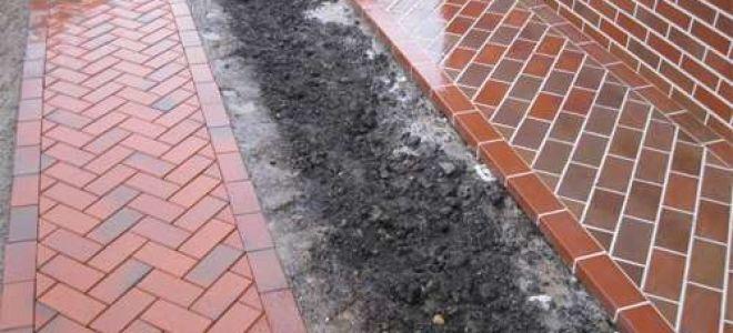 Марка и состав бетона для отмостки