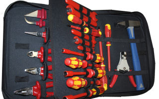 Полный набор инструментов для электриков