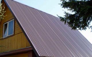 Размеры листа и стоимость профнастила для крыши