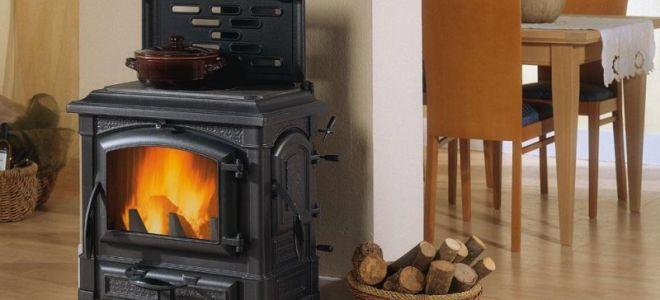 Печи для дома на дровах длительного горения
