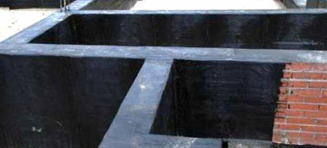 Применение битумной мастики для гидроизоляции фундамента