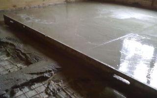 Как выравнивать бетонные полы, пошаговая инструкция