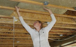 Как утеплять потолок в бане: пошаговая инструкция