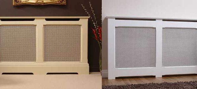 Декоративные решетки на радиаторы отопления
