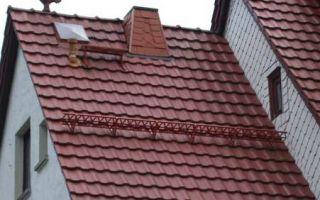 Металлопрофиль для крыши, монтаж, плюсы и минусы