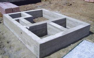 Расчет кубической площади фундамента