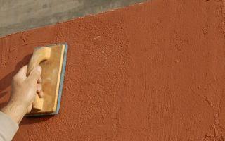 Фасадные шпаклевки для наружных работ