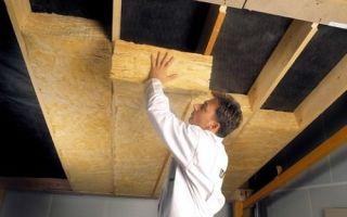 Чем лучше утеплять потолок в частном доме?