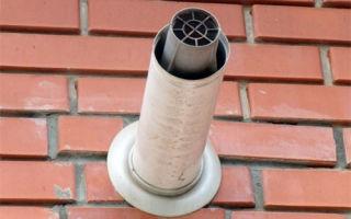 Коаксиальные дымоходы для газовых котлов