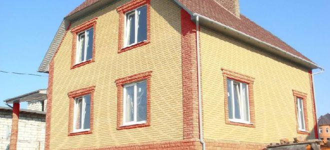 Современные варианты отделки облицовочным кирпичом для фасада