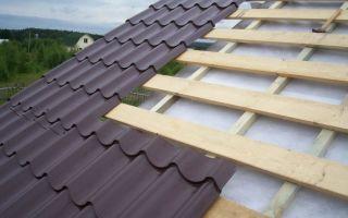 Размер и стоимость листа металлочерепицы для крыши