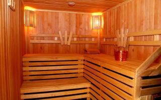 Пароизоляция в бане