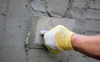 Правильные пропорции раствора для штукатурки стен