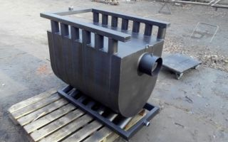 Булерьян с водяным контуром отопления