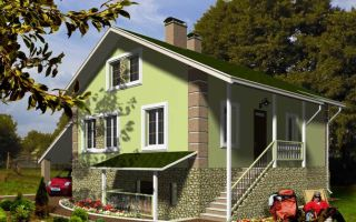Особенности проектирования одноэтажного дома с цокольным этажом