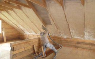 Технология утепления крыши изнутри своими руками