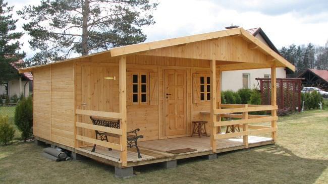Каркасный дом с низким потолком
