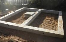 Как построить фундамент для бани: инструкция и нюансы