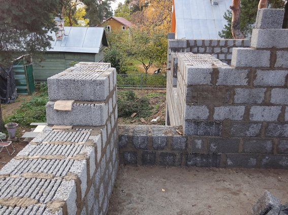 Кладка бетонного блока своими руками