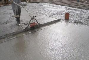Укладка бетона уплотнением