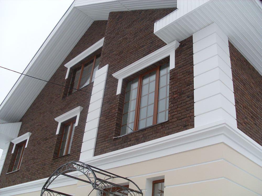 Дом, утепленный пенополистиролом