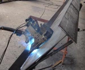 Изготовление двутавровой балки  сварным методом