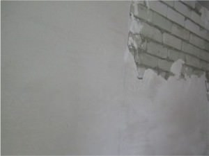 Стартовая шпаклевка стены