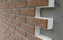 Стена, утепленная пенополистиролом