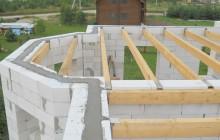 Быстровозводимые деревянные перекрытия в доме из газобетона