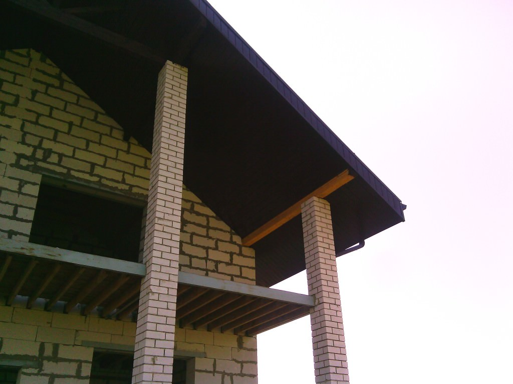 Дом с деревянным перекрытием