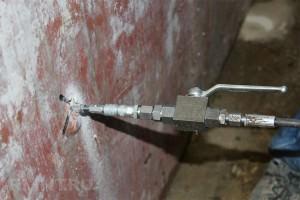 Инъекционная гидроизоляция подвала