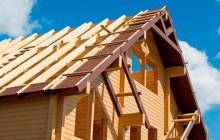 Крыша с двускатным фронтоном