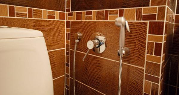Настенный гигиенический душ