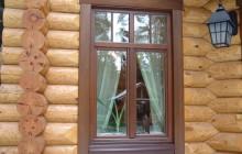 Как правильно вставить окна в деревянном доме?
