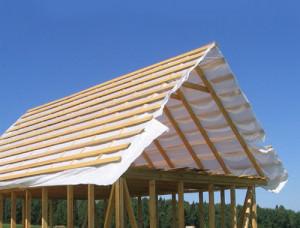 Пароизолированная крыша дома