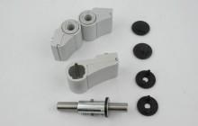 Монтаж и способы крепления петель для алюминиевых дверей