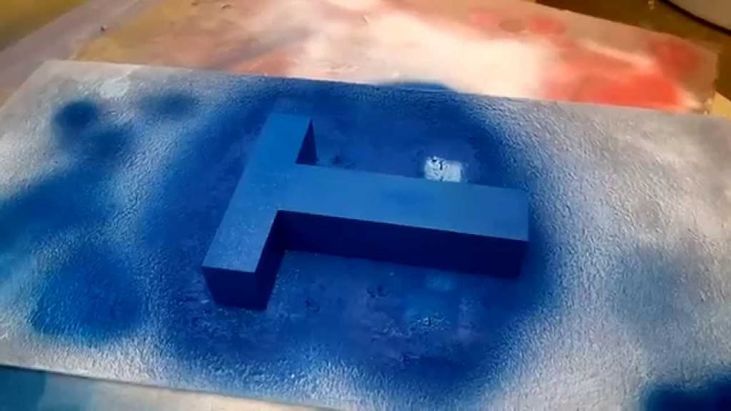 Покрасить пенопласт