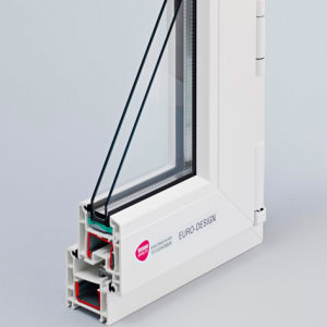 Пластиковое окно Rehau EURO-Design