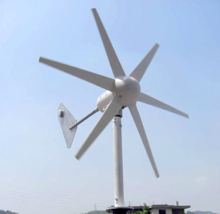 Ветряная электростанция для дома