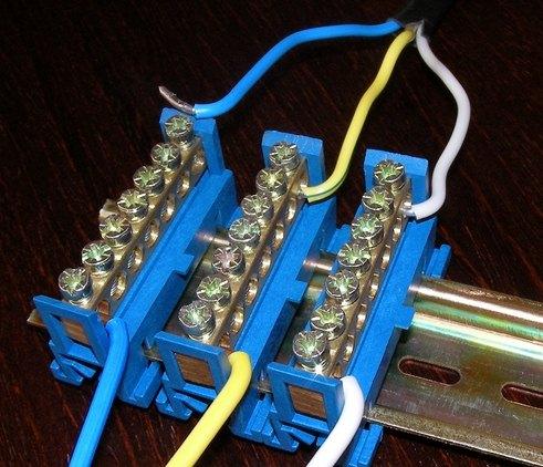 Соединение медного и алюминиевого провода