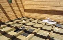 Утепление пола из дерева в деревянном доме