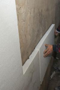 Фиксация пеноплекса к бетону