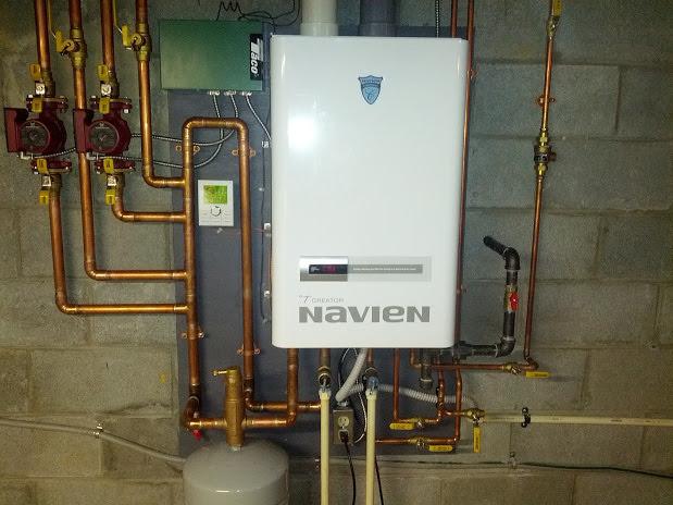 Газовый котёл Navien