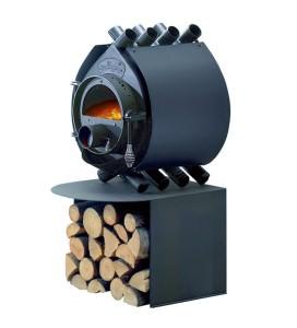 Металлическая печь для дачи
