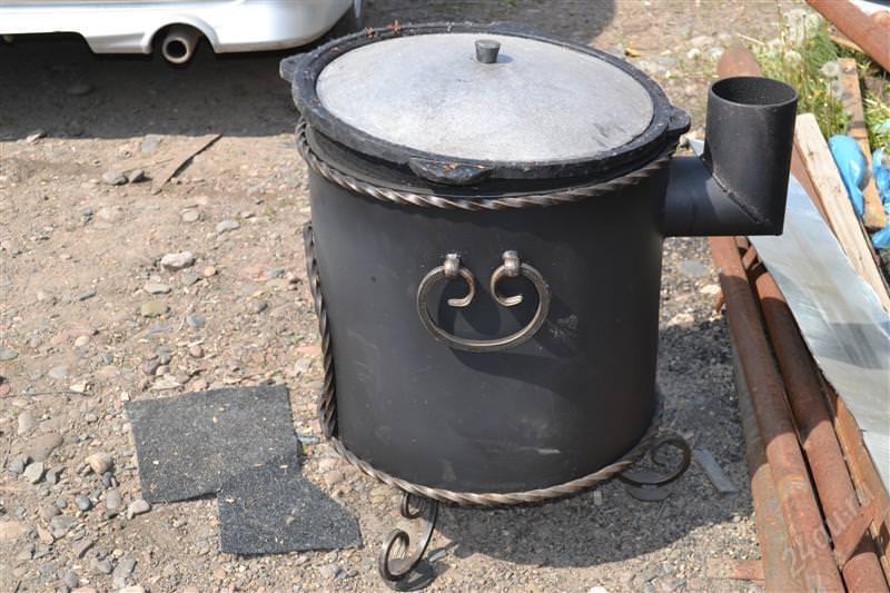 Печь для казана с дымоходом своими руками дымоходы щелковская