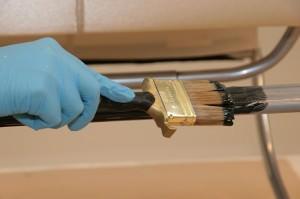 Покраска металла термостойкой краской